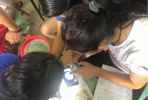 Visita al Liceo Ambientalista de Horquetas