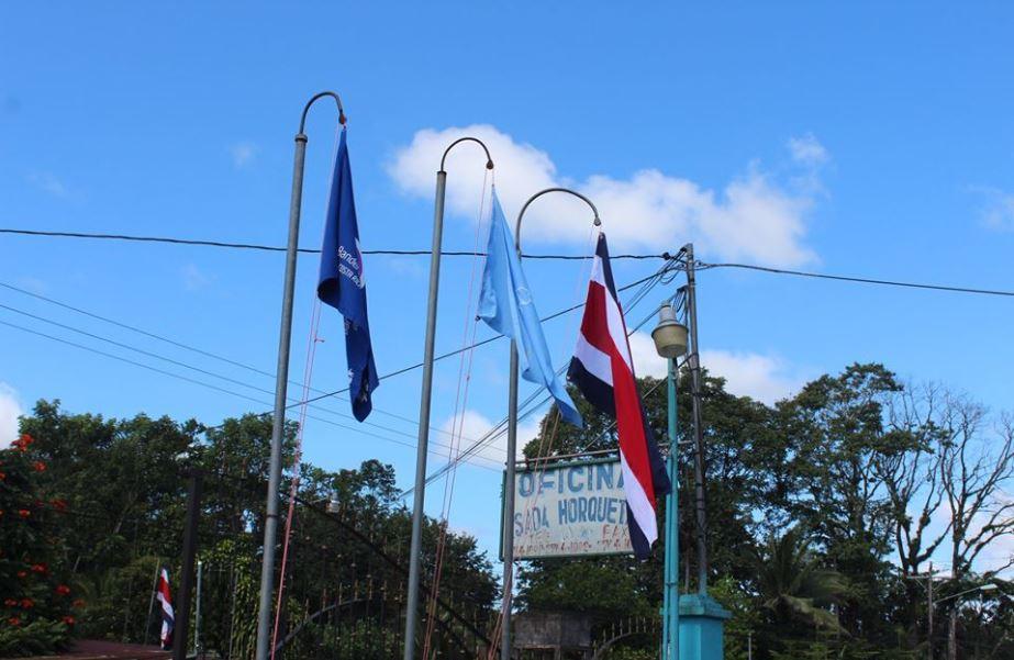 Iza de la bandera 2019