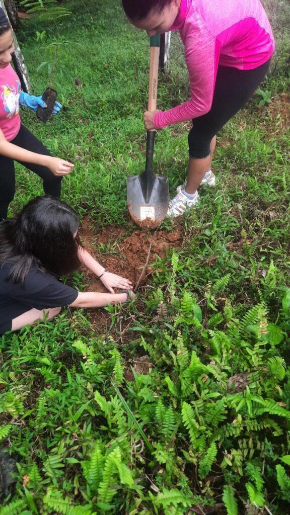 Jornada de Reforestación con el grupo Ecolibre, los árboles nos ayudan a crear un mundo más sostenible y habitable, además, mejoran la calidad del aire, mejoran el suelo deteriorado y contribuye a un aumento de la biodiversidad. !Sembra un árbol!